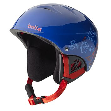 Bolle - B-Kid Shiny Blue Monster Ski Helmet