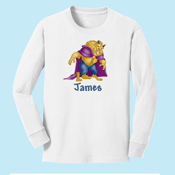 Disney's Beast personalized long sleeve T shirts