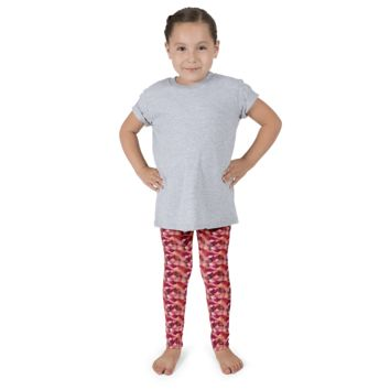 Kid's Mermaid Leggings Koi Fire