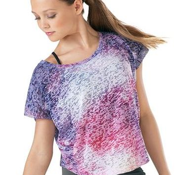 Galaxy Burnout Tee - Urban Groove