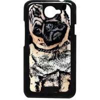 pugs alot dog For HTC One X Case ***