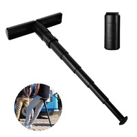 Outdoor Waiting Lined Gadget Portable Travel Lightweight Mini Portable Seat Telescopic Folding Stool Adult