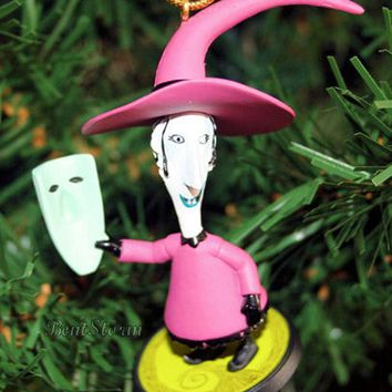Licensed cool NEW Disney NIGHTMARE BEFORE Christmas SHOCK HENCHMAN MASK Holiday Ornament PVC