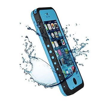 VicTec Waterproof Phone Case Cover For Apple Iphone 5C Shock-Absorbing Pumber Dirtproof Blue