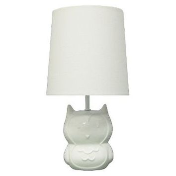 Circo™ Ceramic Table Lamp & Shade - Owl (with bulb) : Target