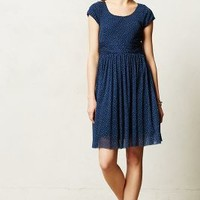 Ballare Dress by Weston Wear Blue Motif