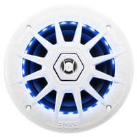 Boss Audio MRGB65 Coaxial Marine Speaker w/RGB LED Lights - 6.5""