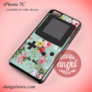 Original Floral Gameboy Phone case for iPhone 5C and another iPhone devices