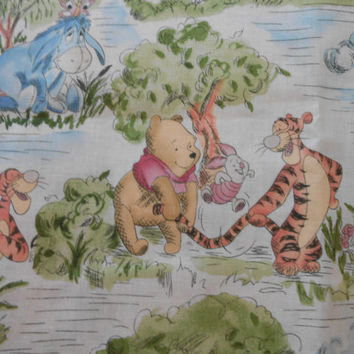 Baby Quilt Winnie The Pooh Hand Made Baby Boy Baby Girl Quilt, Handmade Home Decor Baby Boy Quilt Baby Girl Quilt, 38 x 48 in.Satet,QQQ, CIJ