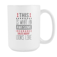 Sales Agent mug - Awesome Insurance Sales Agent