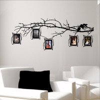 Tree Branch Photo Frames Decal Set - Family Tree Decal 22549