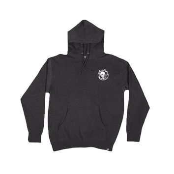Primitive Apparel GRATEFUL HOODIE-CHARCOAL HEATHER Mens Apparel Outerwear at Primitive Store