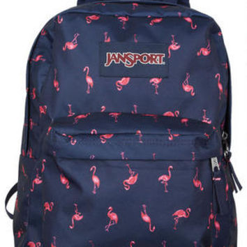 Jansport Superbreak Flamingo Backpack