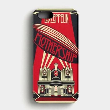 Led Zeppelin Colorfull iPhone SE Case