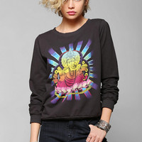 Truly Madly Deeply Ganesh Pullover Sweatshirt - Urban Outfitters