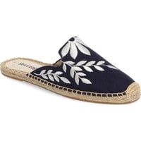Soludos Embroidered Espadrille Mule (Women) | Nordstrom