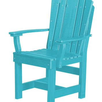 Wildridge Heritage Recycled Plastic Dining Chair with Arms