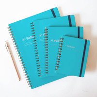Delfonics Rollbahn Notebook Turquoise
