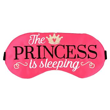 THE PRINCESS IS SLEEPING EYE MASK