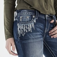 Fray By The Rules Signature Boot Cut