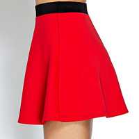 Show Off Scuba Knit Skirt