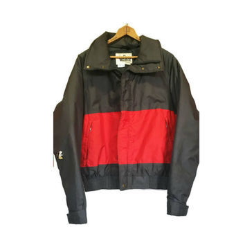 Vintage 1970s Red and Black Woolrich Jacket