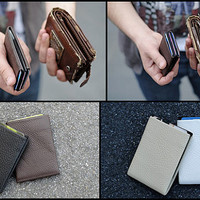 NERO Original Ultra Slim Wallet - Minimalist Wallet - RFID Blocking - Wallets for Men and Women