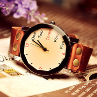 Mens Wrist Watch Leather (WAT0022)
