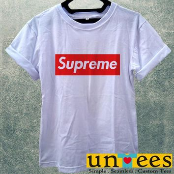 Low Price Women's Adult T-Shirt - Supreme design