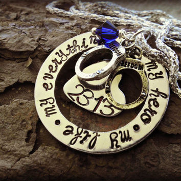 Police Wife Necklace  Police Girlfriend  by SweetAspenJewels