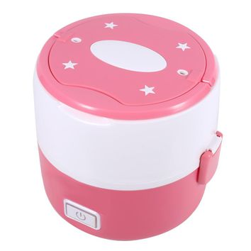 220v 2 layers Mini Rice Cooker Electric Lunch Box Multifunctional  Heat Lunch Box For Lunch Storage Box Dinnerware Set