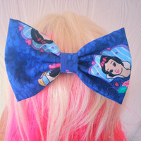 Hair bow / Snow white hair bow / disney hair bow / hair bow / girls hair bow / snow white and the seven dwarves hair bow / snow white