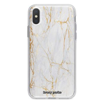 New Phone, Who This? Marble iPhone Case