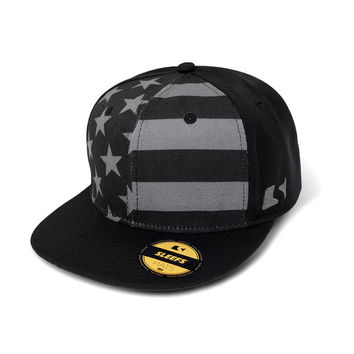 Subdued / Tactical USA Flag Snapback Hat