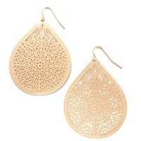Filigree Drop Earrings
