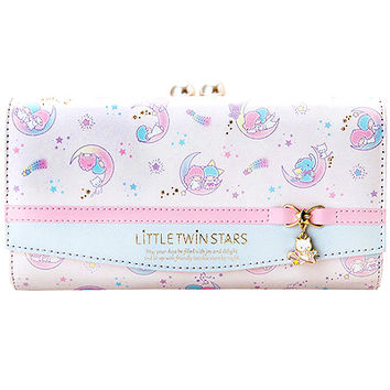 Buy Sanrio Little Twin Stars Deluxe Long Clasp Wallet with Enamel Charm at ARTBOX