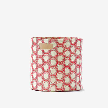 Circles Canvas Storage Bin