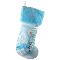 Disney Frozen Elsa Light-It-Up Christmas Stocking, Blue, 18-Inch