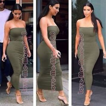 Tight Maxi Dress - Dress Xy