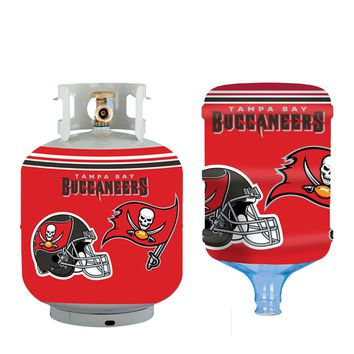 Tampa Bay Buccaneers All In One Propane Tank /  5 Gallon Bottle Skin Cover