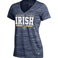 Under Armour Women's Notre Dame Fighting Irish Navy UA Tech T-Shirt | DICK'S Sporting Goods