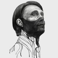 Hannibal Lecter Art Print by Beart24