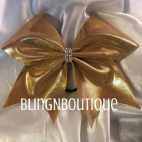 Simply Gold - Gold Cheer Bow