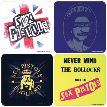 Sex Pistols Coaster Set
