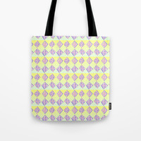 square abstraction-mutlicolor,abstraction,abstract,fun,rectangle,square,rectangled,geometric,geometr Tote Bag by oldking