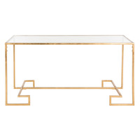 Safavieh Burton Coffee Table - Gold