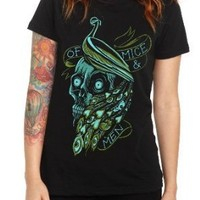 Of Mice & Men Peacock Girls T-Shirt Size : Small