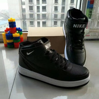 """Nike Air Force 1"" Unisex Sport Casual Letter High Help Shoes Sneakers Couple Plate Shoes"