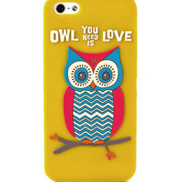 Owl You Need is Love iPhone 5 Cover