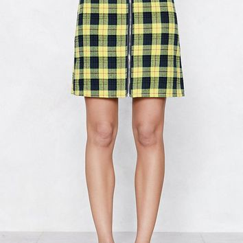 Do You Believe Tartan Skirt
